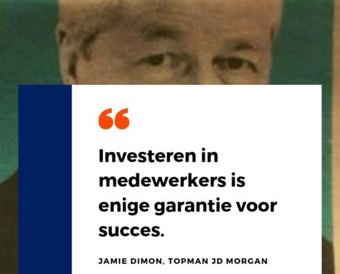 Investeren in medewerkers is enige garantie voor succes.